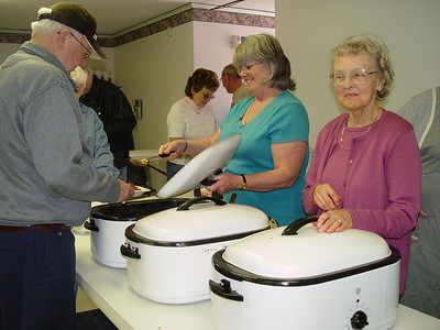 April 21, 2007 Post 200 Bean Supper