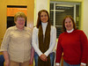 Kathy Hansen was installed as secretary of the Arnold R. Kelley American Legion Post Auxiliary on February 22, 2007. From L-R: Gladys, President; Kathy, Secretary; and Linda, Treasurer. The picture was taken by the Vice-President, Dee Winthrop-Denning,