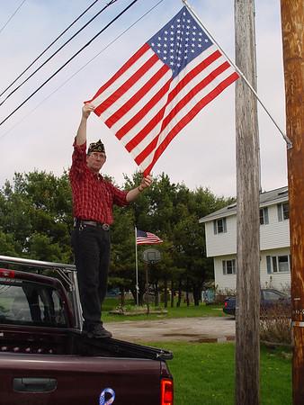 Post 200 Flag Memorial