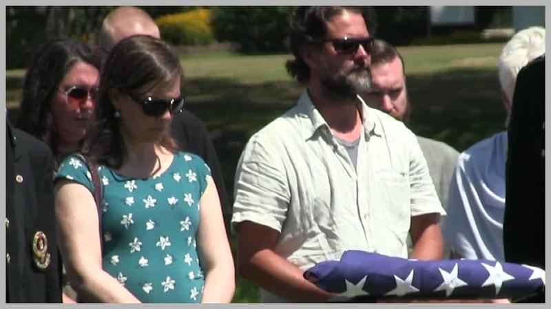 Video:  20 mins ~~ Capt. Drew Ferguson, Part 2 of 2, St. Joseph Cemetery, Aug. 5, 2017