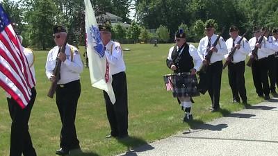 Video:  6 minutes - Capt. Drew Ferguson, USA, St. Joseph Cemetery,  Sat., Aug. 5k 2017