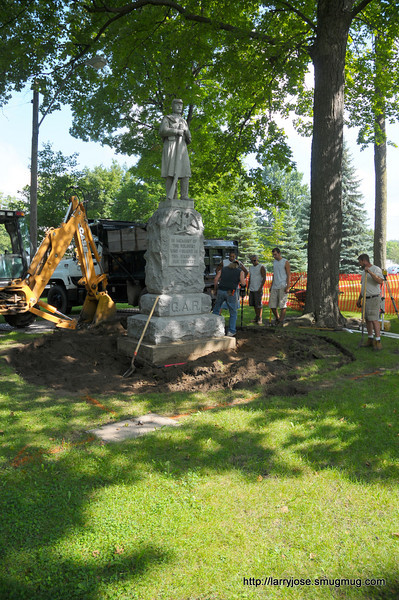 Civil War Monument in the Park Project
