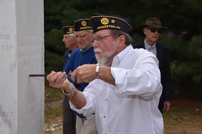 Capt. Rush is a graduate of the Hun School in Princeton.