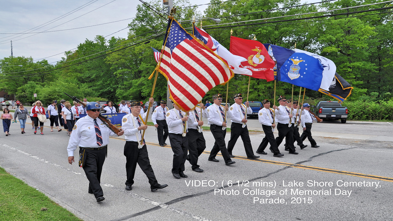 Video:  ( 6 1/2 mins) Parade & Ceremony Photo Collage2