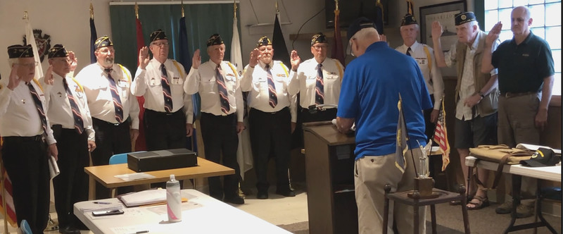 Post 211 - Installation of Officers - 5-2-18
