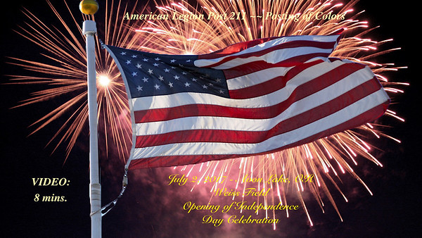 Video:  8 mins ~~ City of Avon Lake's 4th of July Celebration, Sun., July 2, 2017