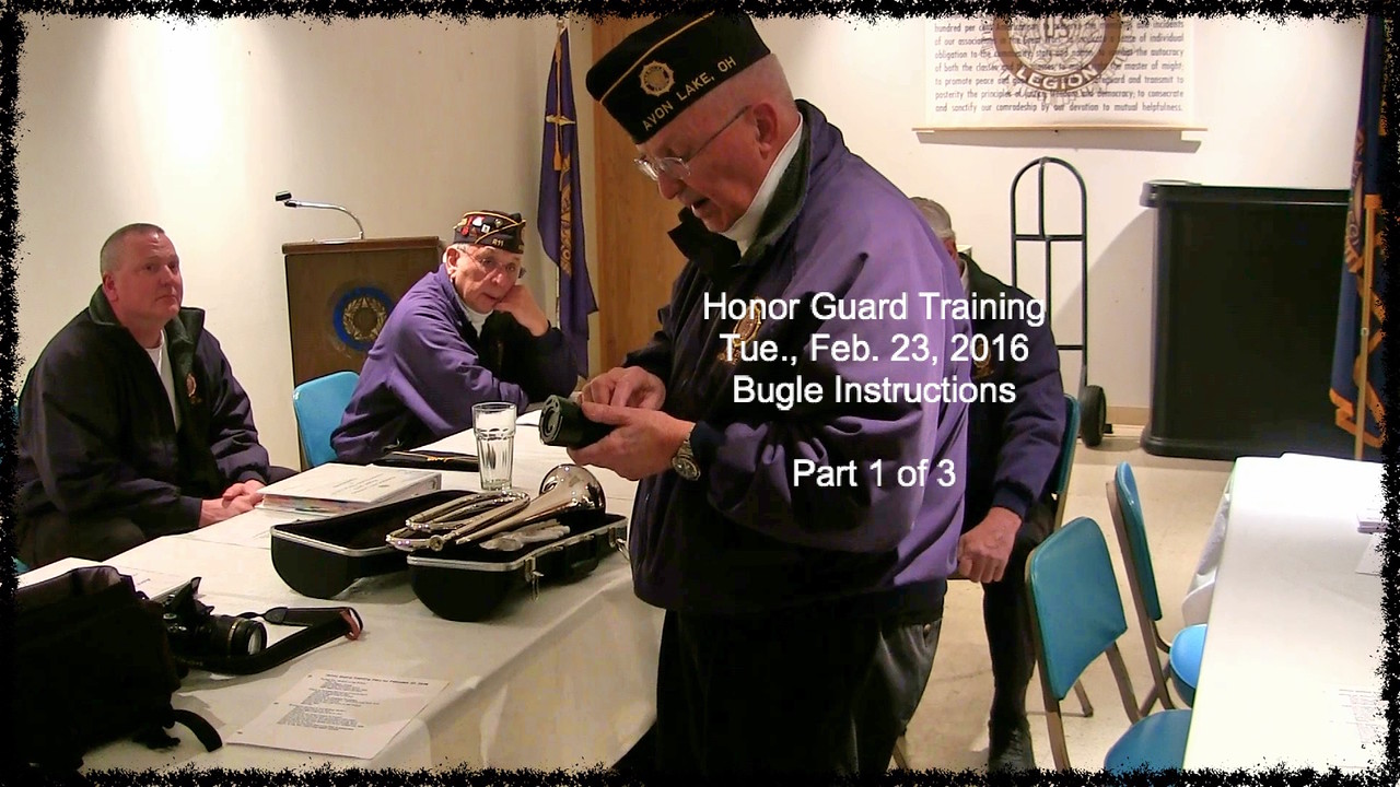 VIDEO:  Bugle Instructions