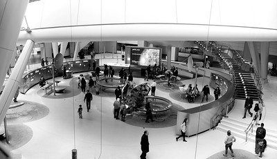 The Rose Center _ bw