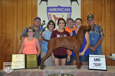 2017 American Redbone Days Friday Champion Female