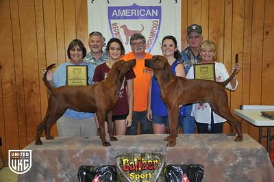 2017 American Redbone Days Pairs
