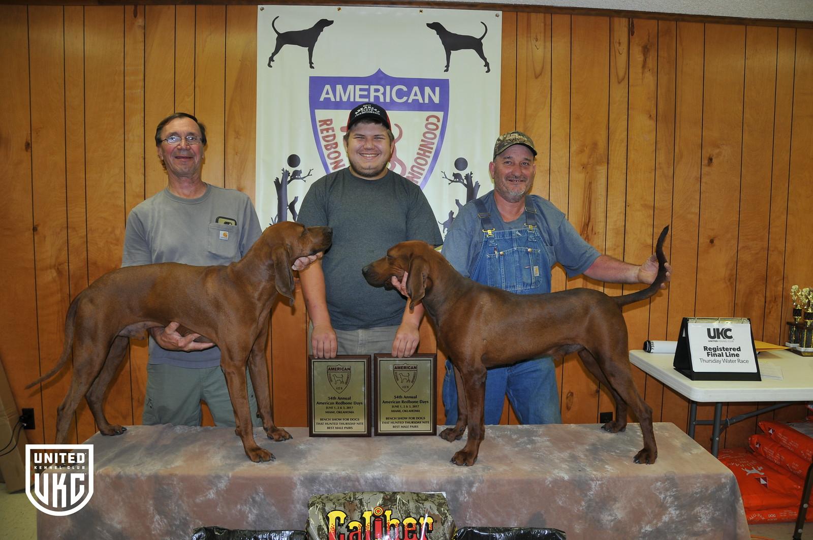 2017 American Redbone Days Male Pairs