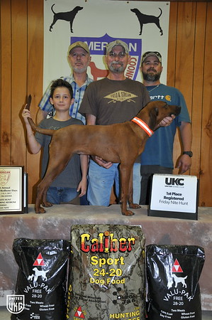 2017 American Redbone Days Friday 1st Place Registered