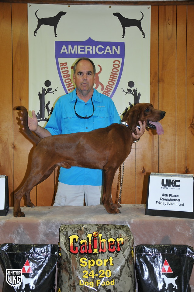 2017 American Redbone Days Friday 4th Place Registered