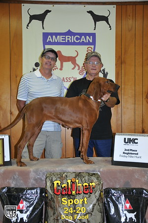 2017 American Redbone Days Friday 3rd Place Registered