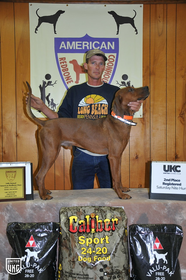 2017 American Redbone Days Saturday 2nd Place Registered
