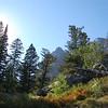 Teton mountains trail, Wyoming