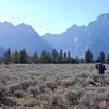 Mount Moran and Mount Woodring, Teton Range, Wyoming