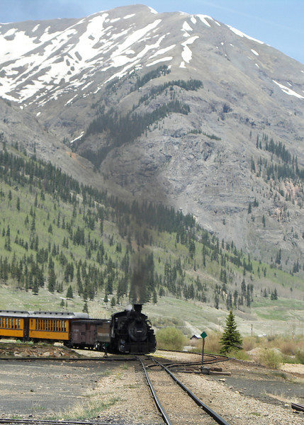 Durango and Silverton Railroad at Silverton