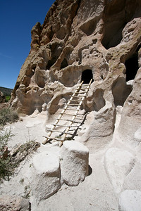 Ladder to cave dwelling