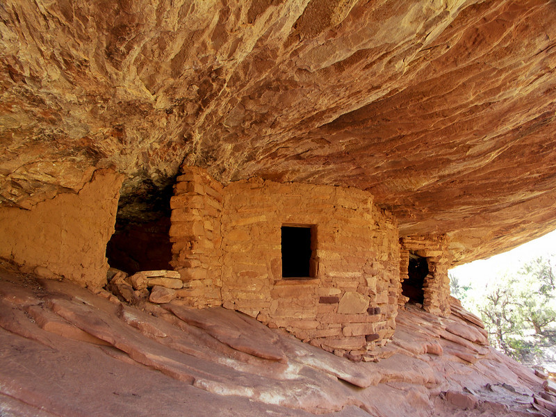 """House on Fire Ruin"" in Mule Canyon, Utah"