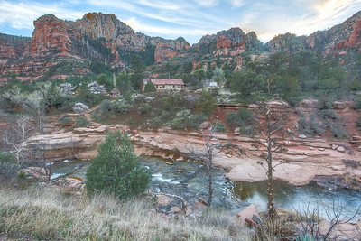 Oak Creek and Slide Rock State Park, Route 89A North of Sedona, Arizona