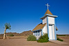 Small church in the desert