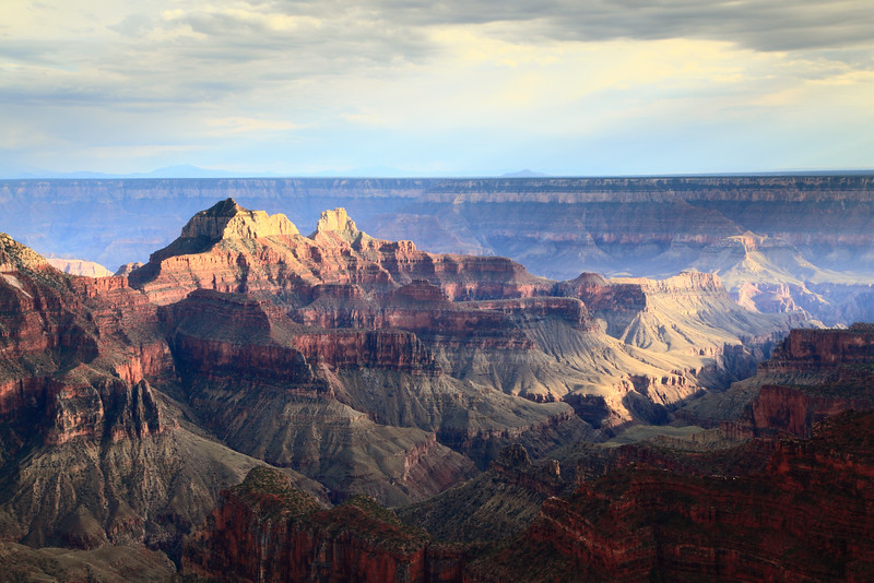 Storm Light over th Grand Canyon