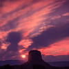 Sunset in Monument Valley ©