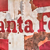 Santa Fe Vintage Railroad Sign
