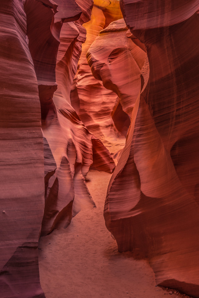 Slot Canyon, Upper Antelope Valley