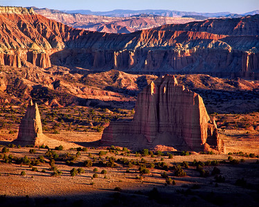 Catherdral Valley, Capitol Reef
