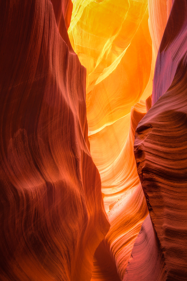 Radiant Slot Canyon
