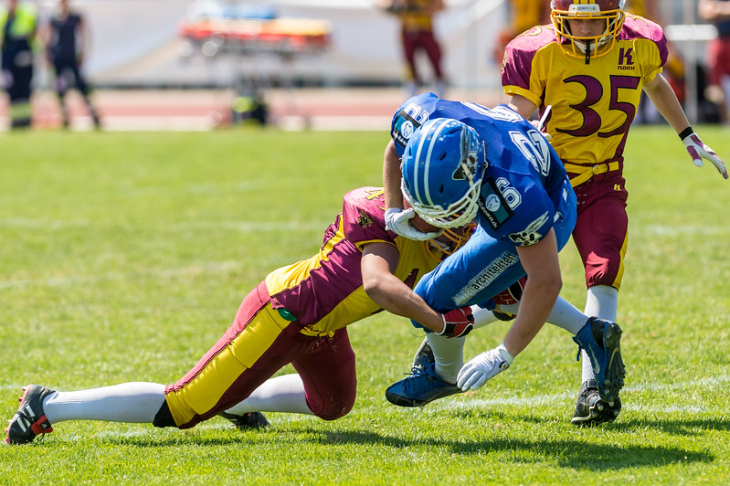 06.06.2015, American Football, Winterthur: AFC Zürich Renegades Juniors @ Winterthur Warriors
