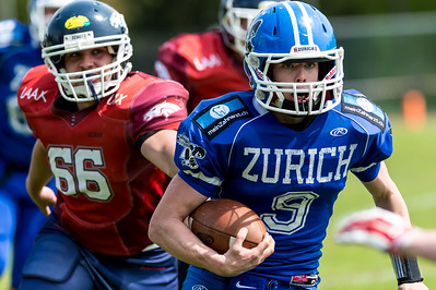 30.04.2016, American Football: Renegades Juniors vs Calanda Broncos