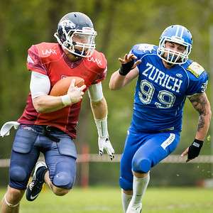 30.04.2016, American Football: Renegades vs Calanda Broncos
