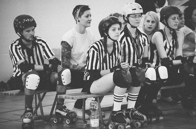 Homebout Rollergirlz vs Blocka Nostra | 2017
