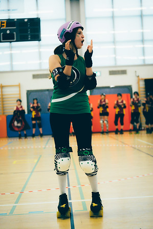 Zürich City Rollergirlz vs RDMC | 2016