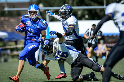 11.06.2017, American Football: Zürich, Renegades Juniors vs Lucerne Lions