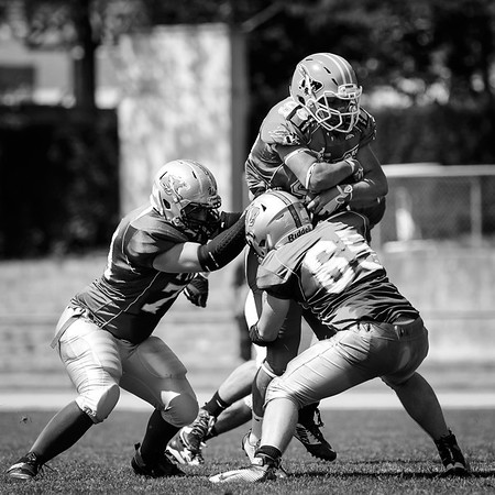 28.05.2017, American Football: Thun, Renegades Juniors @ Thun Tigers
