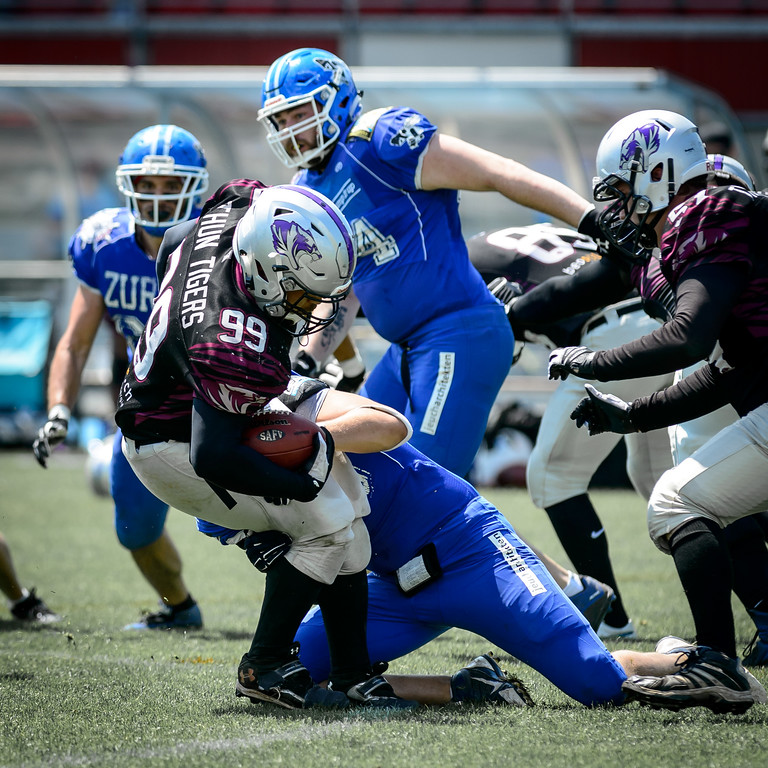 28.05.2017, American Football: Thun, Renegades @ Thun Tigers