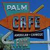 Palm Cafe sign