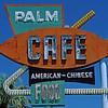 Palm Cafe sign