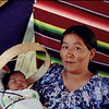Navajo woman and baby