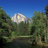 Half Dome from bridge