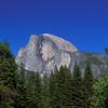 closeup of Half Dome