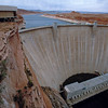 Glen Canyon Dam from Bridge