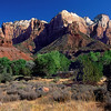 Zion Canyon scene