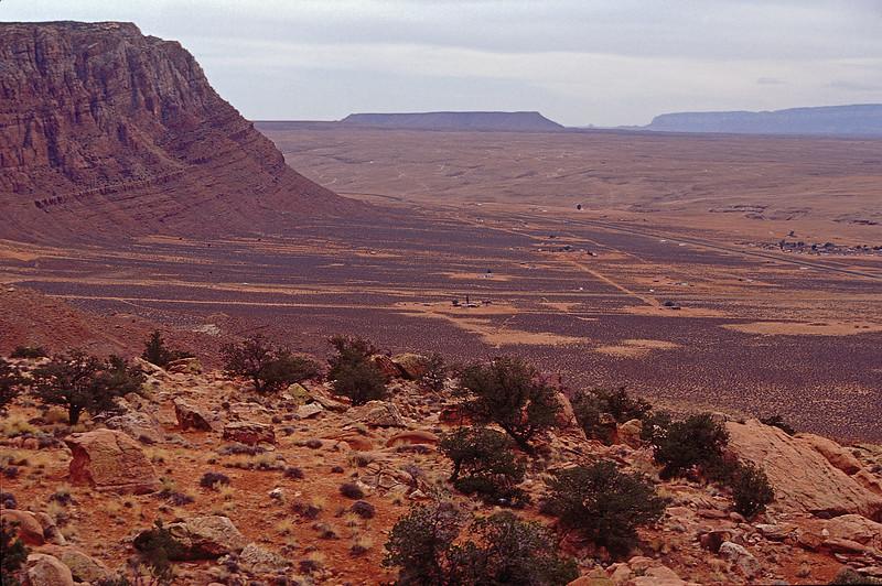 Overlook of Painted Desert