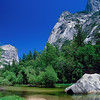Mirror Lake w rock