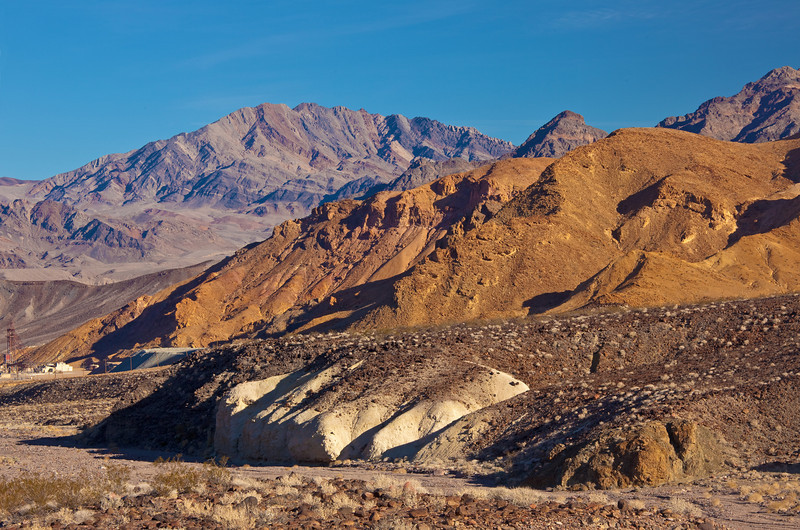 polychrome mountains Death Valley